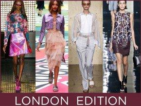 2015春夏时装周潮流--伦敦版