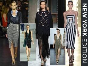Spring / Summer Fashion Week 2015 Trends