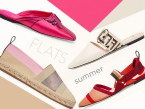 脚踏实地 爱上夏季的平底鞋