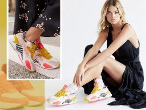 踢踏中的甜美:糖果色少女心运动鞋