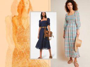 小众时尚的美与魅 褶饰连衣裙