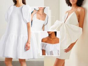 经典小白裙,万花丛中所有美的救赎